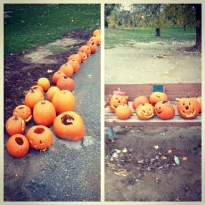 Pumpkin Walk 1