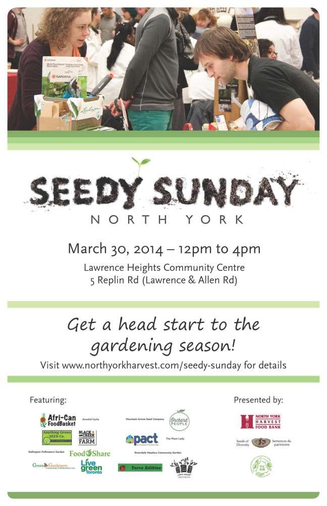 Seedy Sunday gardening event