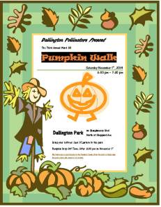 Pumpkin Walk 2014 Flyer 1